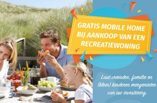 EuroParcs geeft gratis Mobile Homes weg!